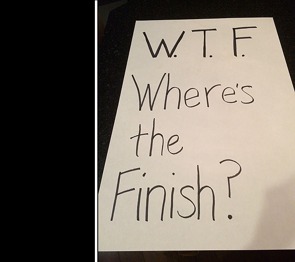 Marathon Sign #1