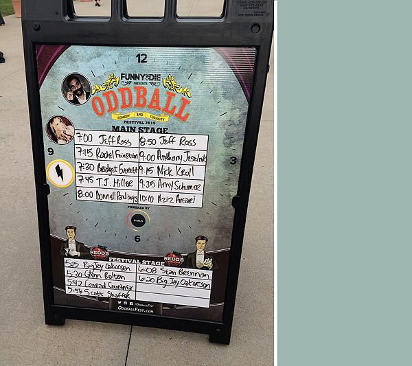 Oddball comedy tour