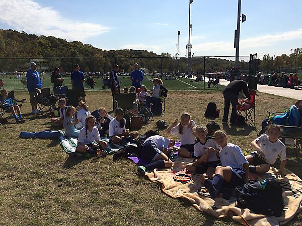 Soccer picnic