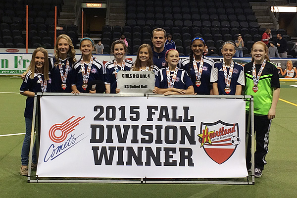 Soccer Division Winners