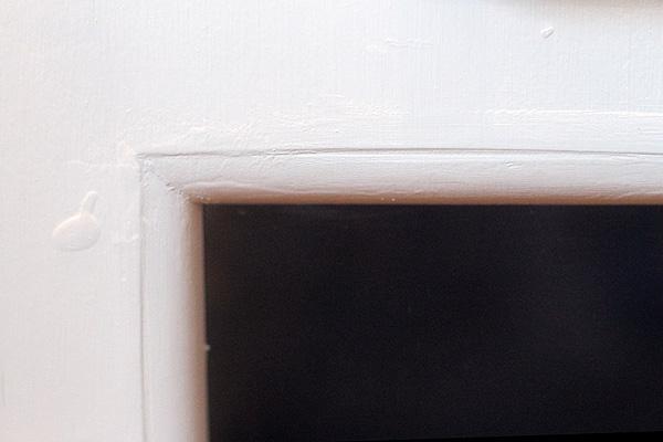 Oven window detail