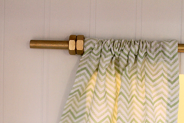 Curtain Rod detail