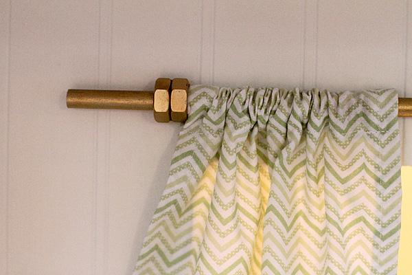 Curtain Rod detail