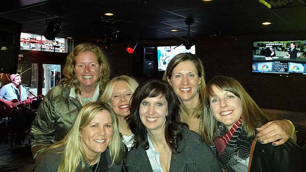 All of us at the bar crawl