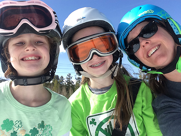 Skiing with the Littles
