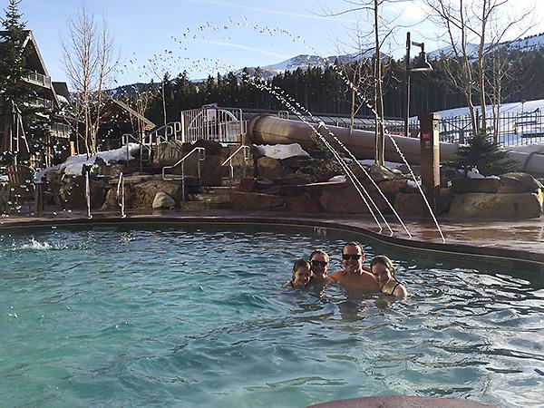 Swimming at Grand Lodge