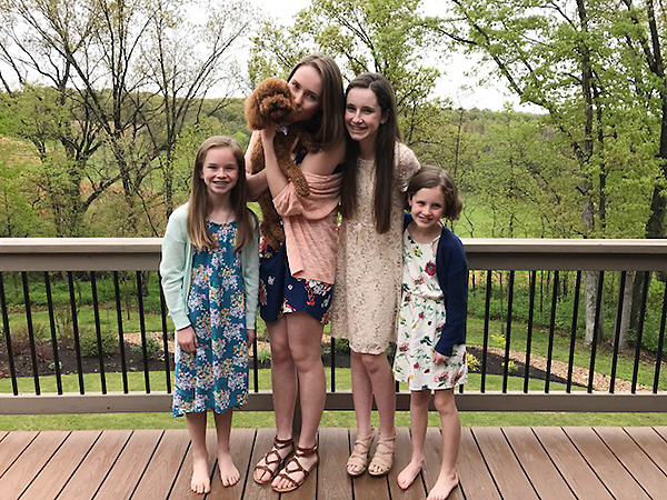 The girls at EAster