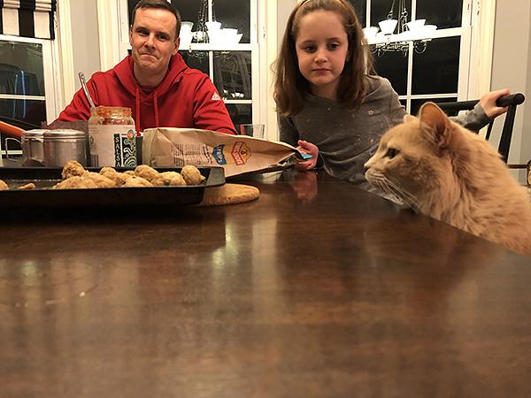 Darby at Dinner