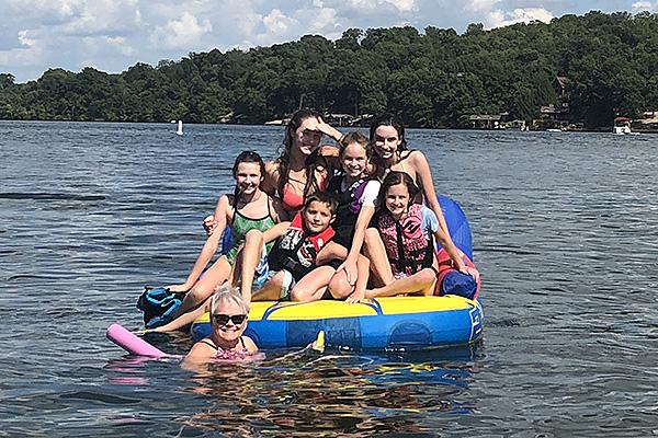 09 Sept Lily pad at the Lake